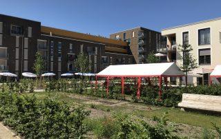 Neubauprojekte von Wagnis eG und Progeno eG im Prinz Eugen Park