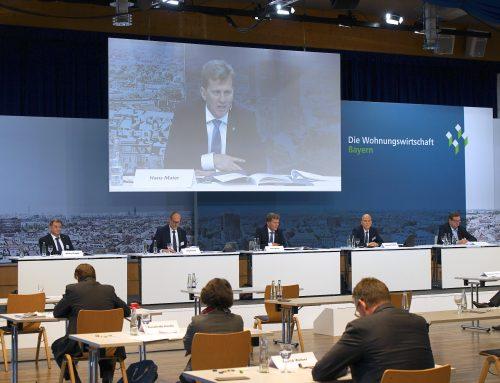Historisches Ereignis: VdW Bayern Verbandstag 2020 und Fachtagung WohWi im Dialog als Hybridformate